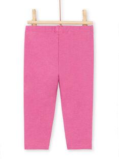 Baby girl pink legging MYIPALEG2 / 21WI09H1CALH705