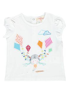 Baby girls' short-sleeved T-shirt CIMATI / 18SG09U1TMC000