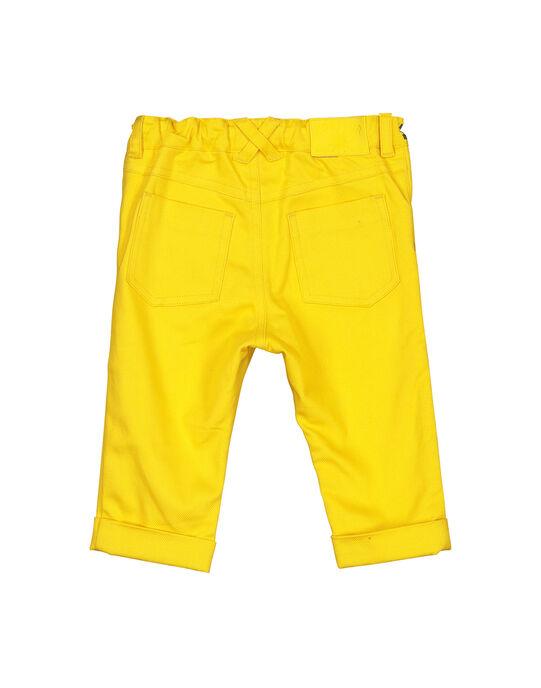 Pale yellow pants FILIPAN / 19SG0921PAN103