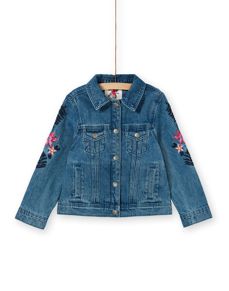 Blue cotton denim jacket LANAUVEST / 21S901R1VESP274