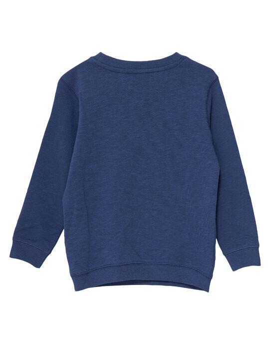 Navy Sweat Shirt JOTROSWE / 20S902F1SWEC205