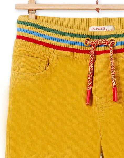 Straw yellow PANTS KOLUPAN2 / 20W902P2PAN104