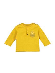 Yellow T-shirt FUJOTUN1 / 19SG1031TML412