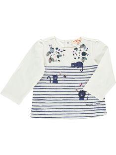 Baby girls' long-sleeved T-shirt CIKLETEE / 18SG09D1TML001