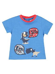 Baby boys' printed T-shirt FUTOTI1 / 19SG10L1TMCC215