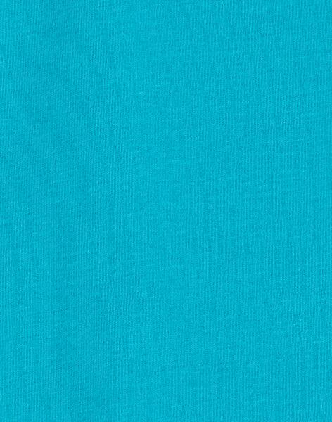 Turquoise ROLL-NECK KUJOSOUP5 / 20WG1041SPL202