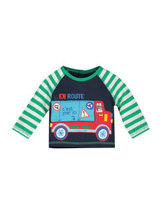 Baby boys' fleece sweatshirt FUCOSWE / 19SG1081SWE705