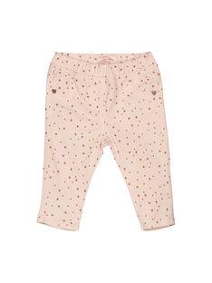 Baby girls' trousers FIJOPAN1 / 19SG0931PAN307