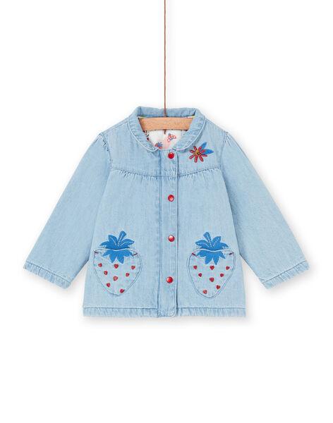 Baby girl blue denim jacket LICANVEST / 21SG09R1VESP272