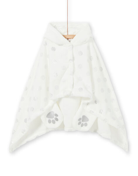 Child cape girl in soft boa panda unicorn LEFACAPAND / 21SH1111CPE001
