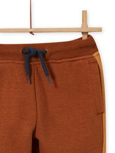 Boy's camo jogging pants with vehicle embroidery MOCOJOG / 21W902L1JGBI806