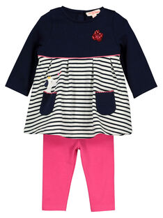 Baby girls' set FICOENS / 19SG0981ENSC205