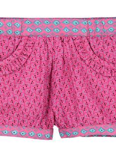 Baby girls' poplin shorts FITUSHO / 19SG09F1SHO712