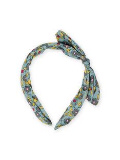 Flower print headband girl MYAJOSERR1 / 21WI01S4TET612
