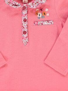 Baby girls' long-sleeved T-shirt CIHOBRA / 18SG09E1BRA404