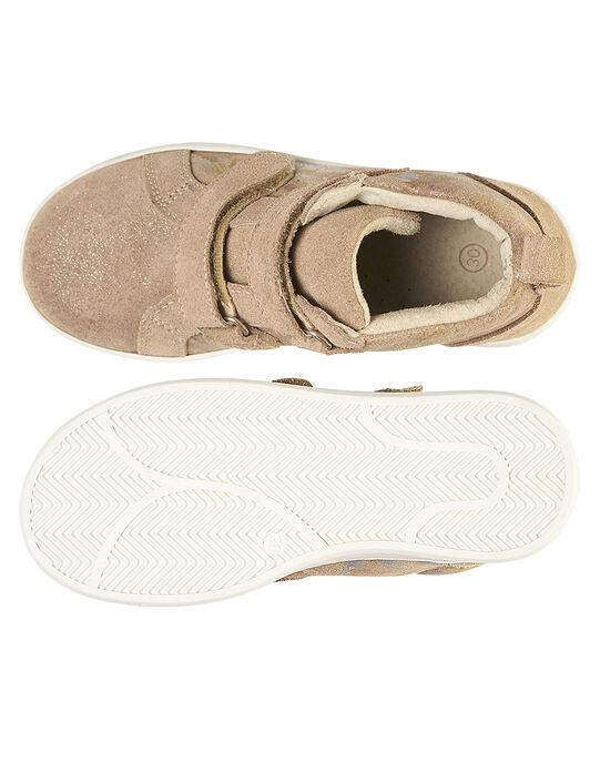 Beige Sneakers GFBASBEIG / 19WK35I8D3F080