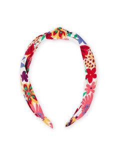 Girl's flowery headband MYAJOSERR2 / 21WI01S1TET009