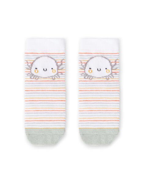 White socks birth boy LOU2CHO2 / 21SF41I2SOQ000