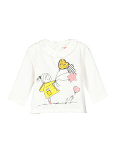 Baby girls' long-sleeved T-shirt FILITEE / 19SG0921TML001