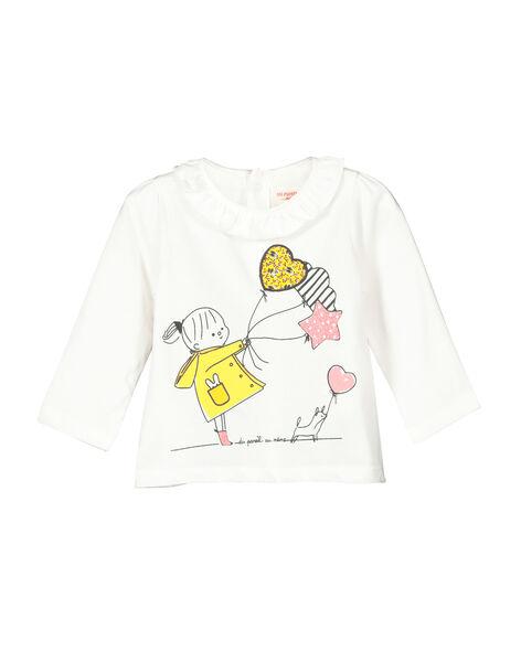 Baby girls' long-sleeved T-shirt FILITEE / 19SG0921TML001