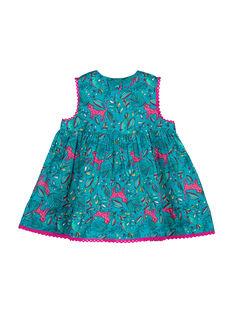 Turquoise Dress FITUROB1 / 19SG09F1ROB202