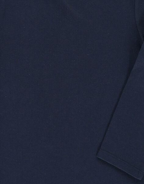 Boys' long-sleeved T-shirt DOJOTEE2 / 18W90238D32705