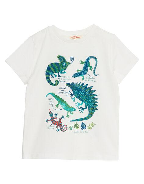 Off white T-shirt JOSAUTI5 / 20S902Q4TMC001