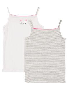 White Underwear GEFADELCHA / 19WH1162HLI000