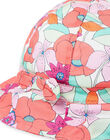 Baby girl colorful floral print bob LYIVICHA / 21SI09U1CHA000
