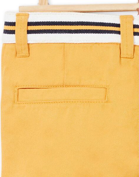Yellow PANTS LOJAUPAN / 21S902O1PAN107