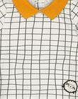 Unisex babies' graphic checked T-shirt GOU1TEE / 19WF0511TML001