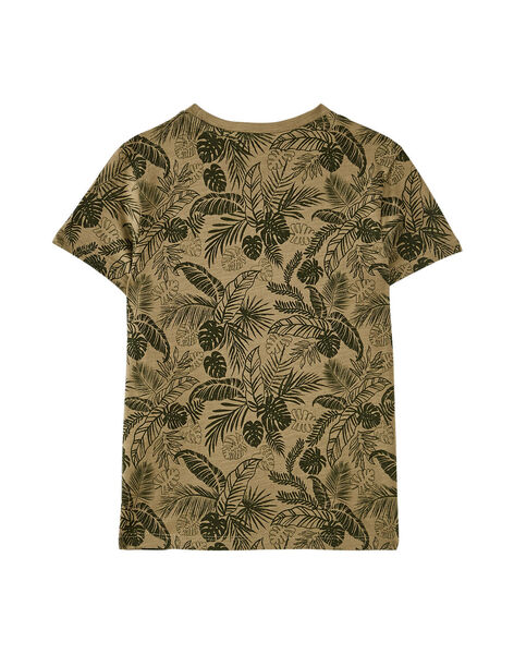 Kaki T-shirt JOSAUTI2 / 20S902Q5TMC628
