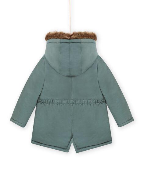 Hooded parka khaki child girl MAKAPARKA / 21W90152PAR612