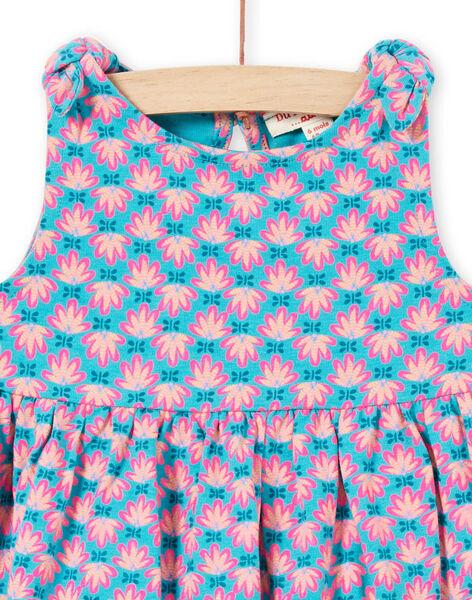 Turquoise DRESS LIPLAROB3 / 21SG09T1ROBC216