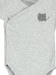 Unisex babies' short-sleeved bodysuit FOU2BOD4 / 19SF77J4BOD943