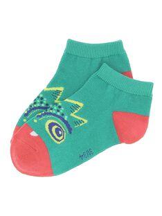 Boys' monster socks CYODOUCHO / 18SI02J1SOQ613