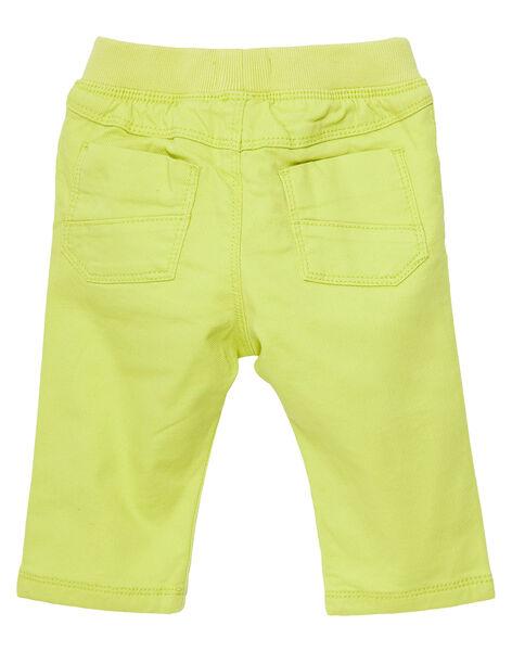 Yellow pants JUCLOPAN / 20SG1011PANB105
