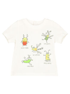 Off white T-shirt FUYETI2 / 19SG10M2TMC001