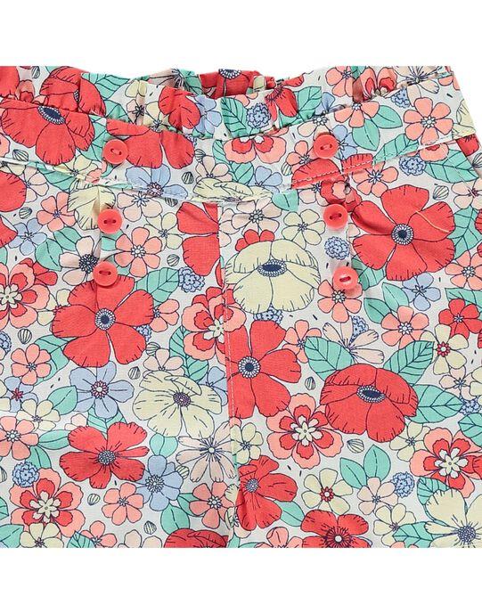 Multicolor Shorts CIBUSHO / 18SG09K1SHO099