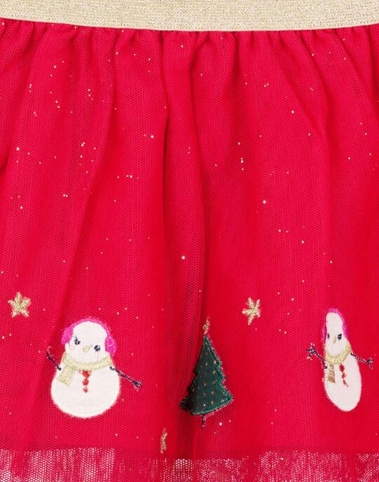 Red Skirt GINOJU / 19WG09V1JUPF521
