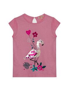 Pink T-shirt JAPOETI2 / 20S901G1TMCD303