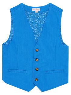 Blue Sleeveless Jacket JOSOGIL / 20S90281GSM201