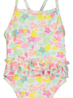 Baby girls' one-piece swimsuit FYIMEREX / 19SI09K4MAI000