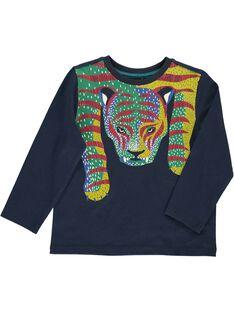 Boys' long-sleeved T-shirt DOVIOTEE3 / 18W902H3TML717