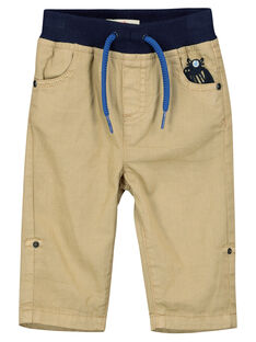 Brown pants FUNEPAN1 / 19SG10B1PANI807