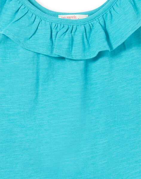 Turquoise TANK TOP LAJODEB3 / 21S901F3D27C216