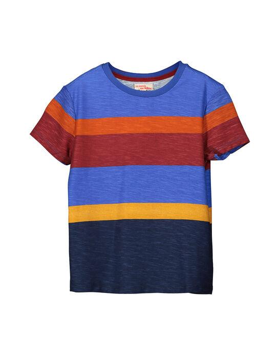 Boys' short-sleeved T-shirt FOBATI1 / 19S90261TMC001