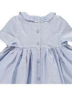 Baby girls' short-sleeved dress CIKLEROB1 / 18SG09D3ROB099