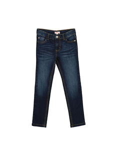 Boys' slim jeans FOJOSLIJEA1 / 19S90231D29704