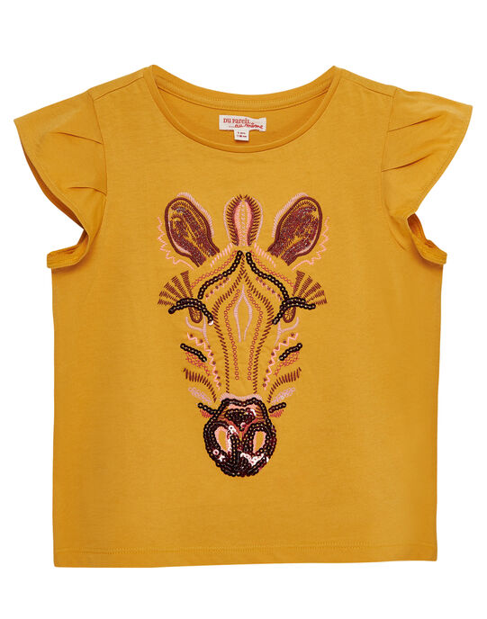 Yellow T-shirt JADUTI2 / 20S901O2TMCB107